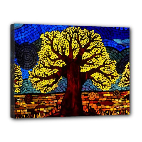 Tree Of Life Canvas 16  X 12  by BangZart