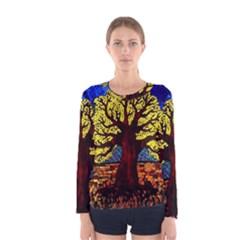 Tree Of Life Women s Long Sleeve Tee