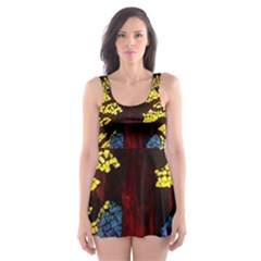 Tree Of Life Skater Dress Swimsuit