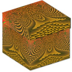 Fractal Pattern Storage Stool 12