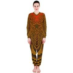 Fractal Pattern Onepiece Jumpsuit (ladies)
