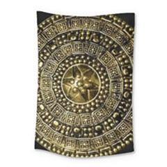 Gold Roman Shield Costume Small Tapestry