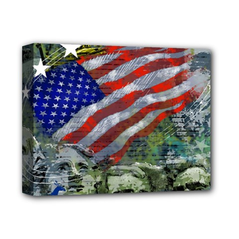 Usa United States Of America Images Independence Day Deluxe Canvas 14  X 11  by BangZart