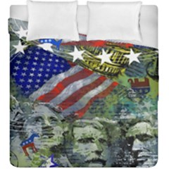 Usa United States Of America Images Independence Day Duvet Cover Double Side (king Size) by BangZart