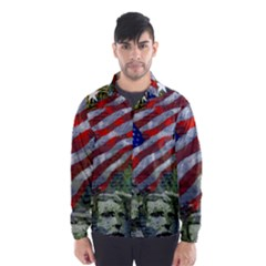 Usa United States Of America Images Independence Day Wind Breaker (men)