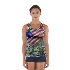 Usa United States Of America Images Independence Day Sport Tank Top