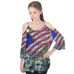 Usa United States Of America Images Independence Day Flutter Tees