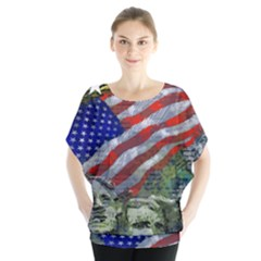 Usa United States Of America Images Independence Day Blouse