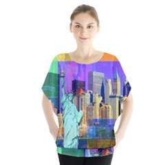 New York City The Statue Of Liberty Blouse
