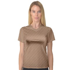 Tooling Patterns V Neck Sport Mesh Tee