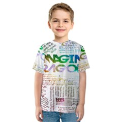 Imagine Dragons Quotes Kids  Sport Mesh Tee
