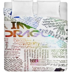 Imagine Dragons Quotes Duvet Cover Double Side (king Size)