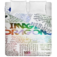 Imagine Dragons Quotes Duvet Cover Double Side (california King Size) by BangZart