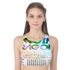 Imagine Dragons Quotes Tank Bikini Top by BangZart