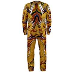 Chinese Dragon Pattern Onepiece Jumpsuit (men)
