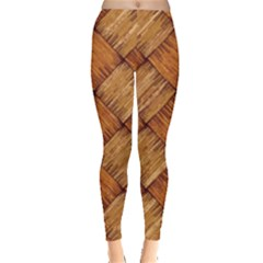 Vector Square Texture Pattern Leggings