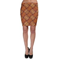Vector Square Texture Pattern Bodycon Skirt