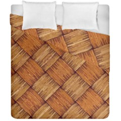 Vector Square Texture Pattern Duvet Cover Double Side (california King Size)