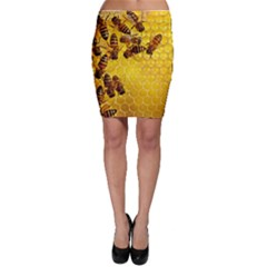 Honey Honeycomb Bodycon Skirt