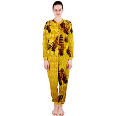 Honey Honeycomb Onepiece Jumpsuit (ladies)