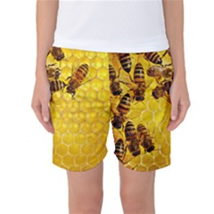 Honey Honeycomb Women s Basketball Shorts