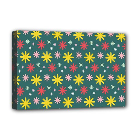 The Gift Wrap Patterns Deluxe Canvas 18  X 12