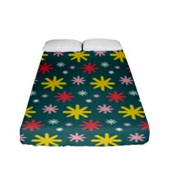 The Gift Wrap Patterns Fitted Sheet (full/ Double Size)