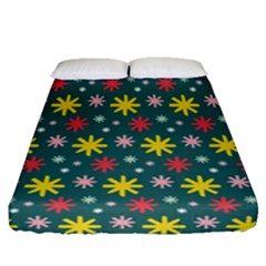 The Gift Wrap Patterns Fitted Sheet (queen Size)