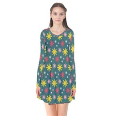 The Gift Wrap Patterns Flare Dress