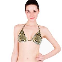 Leopard Face Bikini Top