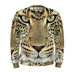 Leopard Face Men s Sweatshirt