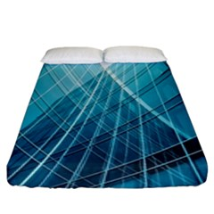 Glass Bulding Fitted Sheet (king Size) by BangZart