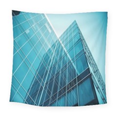 Glass Bulding Square Tapestry (large) by BangZart