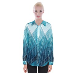 Glass Bulding Womens Long Sleeve Shirt