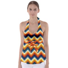 The Amazing Pattern Library Babydoll Tankini Top