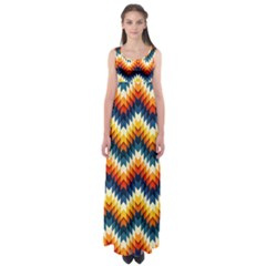 The Amazing Pattern Library Empire Waist Maxi Dress