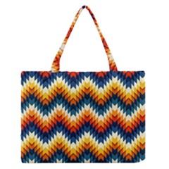 The Amazing Pattern Library Medium Zipper Tote Bag
