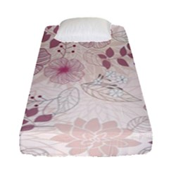 Leaves Pattern Fitted Sheet (single Size)