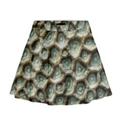 Ocean Pattern Mini Flare Skirt