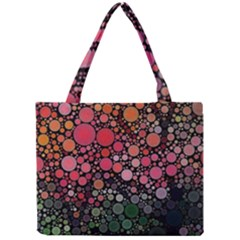 Circle Abstract Mini Tote Bag