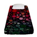 Circle Abstract Fitted Sheet (Single Size) View1