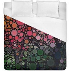 Circle Abstract Duvet Cover (king Size)