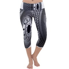 Tire Capri Yoga Leggings