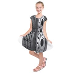 Tire Kids  Short Sleeve Dress