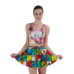 Snakes And Ladders Mini Skirt