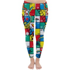 Snakes And Ladders Classic Winter Leggings