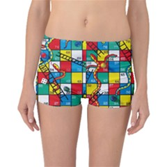 Snakes And Ladders Boyleg Bikini Bottoms