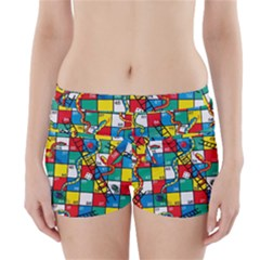 Snakes And Ladders Boyleg Bikini Wrap Bottoms