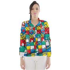 Snakes And Ladders Wind Breaker (women)