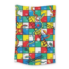 Snakes And Ladders Small Tapestry
